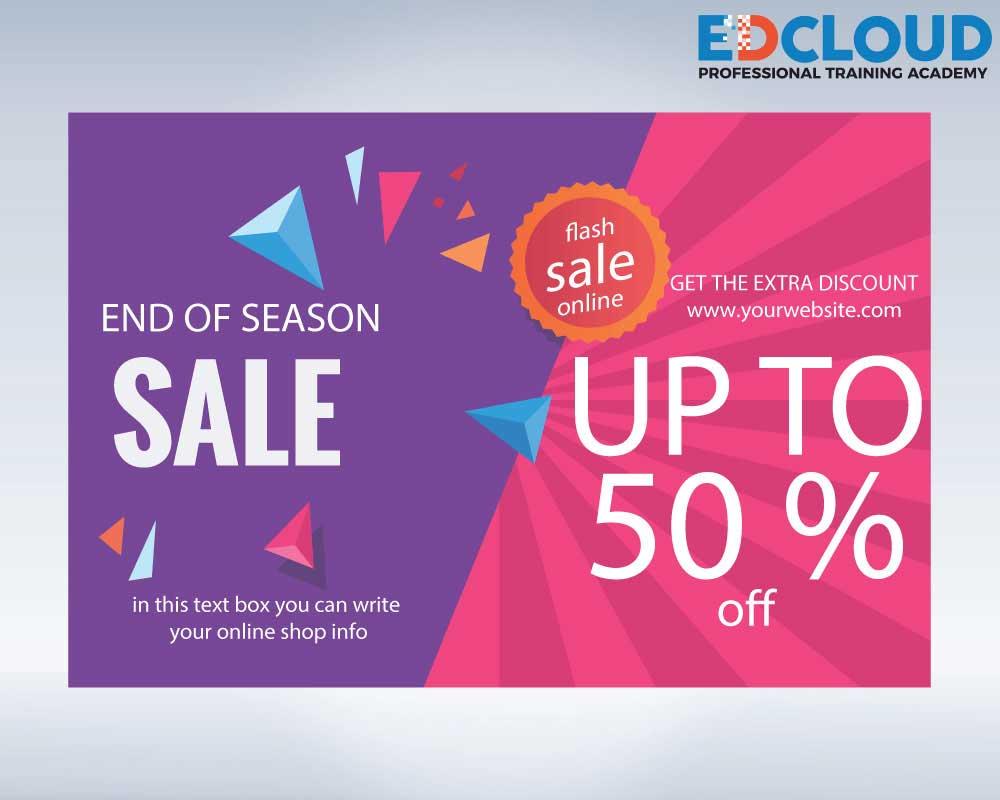 End if Season sale banner