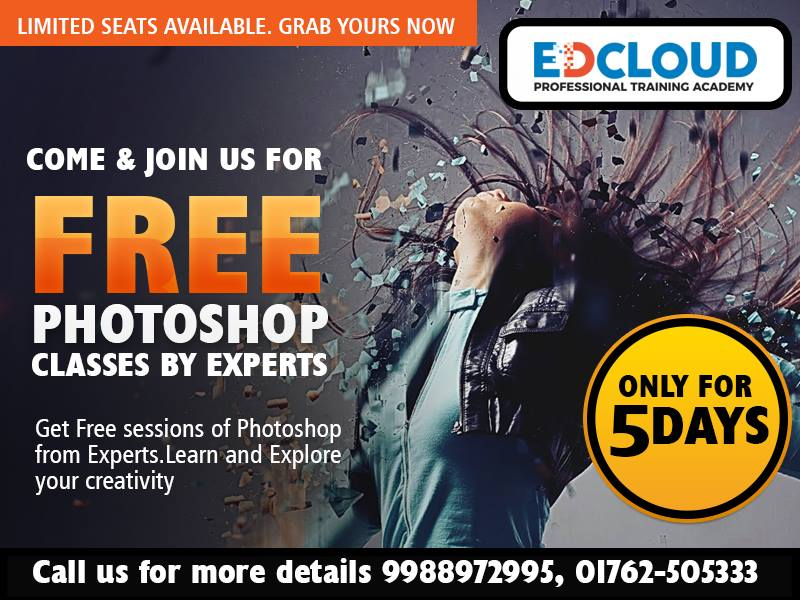 Free Photoshop Classes For Five Days
